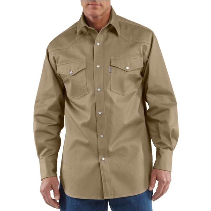 400a6366d6 Carhartt Ironwood Twill Work Shirt (S209) - Sportex Sales