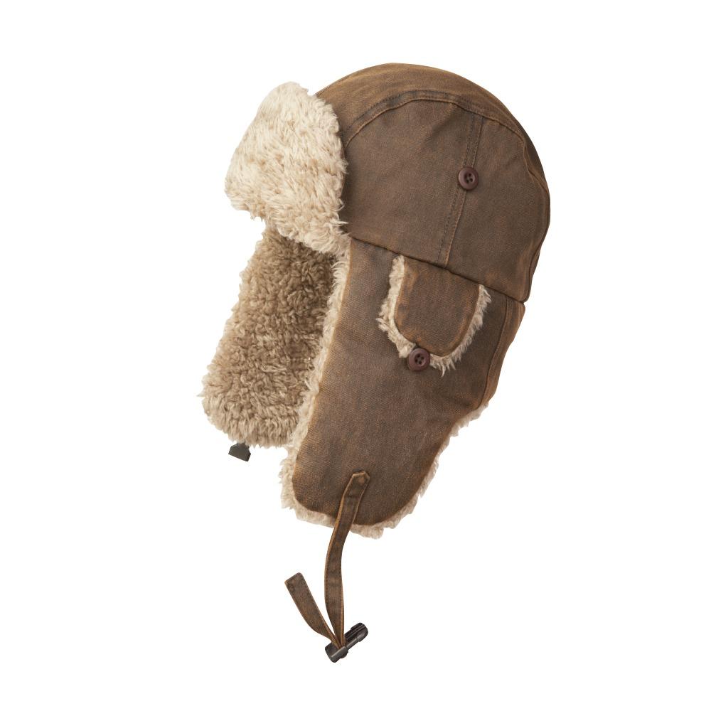 ee87a24c3559e6 Tough Duck Canvas Aviator Hat (i15316) - Sportex Sales